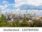 odesa  ukraine   july 14 2015 ... | Shutterstock . vector #1207849303