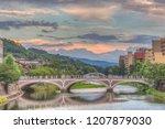 hdr image of the asanogawa... | Shutterstock . vector #1207879030