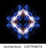 led light. abstract effect.... | Shutterstock . vector #1207908076