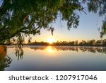 Sunrise On The Murray River In...