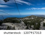 View From Heavenly Ski Lift In...
