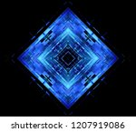 led light. abstract effect.... | Shutterstock . vector #1207919086