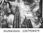 Cathedral In Antwerp  Belgium