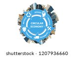 illustration of concept... | Shutterstock . vector #1207936660