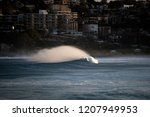 huge waves at sunset  sydney... | Shutterstock . vector #1207949953