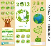 ecology elements you can use on ... | Shutterstock . vector #120795190