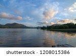 irish twilight sunset over... | Shutterstock . vector #1208015386