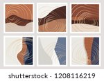 beautiful fall inspired art... | Shutterstock .eps vector #1208116219