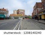 detroit  michigan  united... | Shutterstock . vector #1208140240