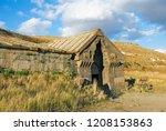 caravanserai on selim pass ... | Shutterstock . vector #1208153863