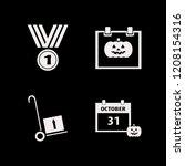 celebration icon. celebration... | Shutterstock .eps vector #1208154316