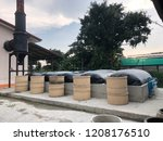 biogas in thailand | Shutterstock . vector #1208176510