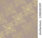 winter pattern with hand drawn... | Shutterstock .eps vector #1208182339