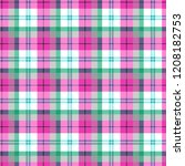 checkered seamless pattern at... | Shutterstock .eps vector #1208182753