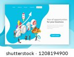 year of opportunities for you... | Shutterstock .eps vector #1208194900