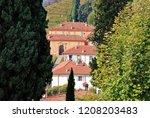montevecchia  lecco  lombardy   ... | Shutterstock . vector #1208203483
