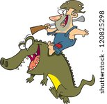 alligators,animals,firearms,gator,gator jack,gun,hillbilly,male,man,men,reptiles,rifle