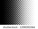 gradient background halftone...   Shutterstock .eps vector #1208281066
