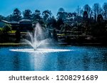 lush landscape of the south of... | Shutterstock . vector #1208291689