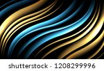 abstract dark background with... | Shutterstock .eps vector #1208299996