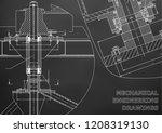mechanical engineering.... | Shutterstock .eps vector #1208319130