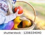 close up detail shot of a kid... | Shutterstock . vector #1208334040