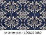 seamless luxury decorative... | Shutterstock .eps vector #1208334880