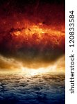 abstract apocalyptic background ... | Shutterstock . vector #120833584