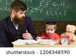elementary education. kid...   Shutterstock . vector #1208348590