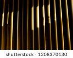fragment of high tech blinds  ...   Shutterstock . vector #1208370130