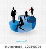 business concept | Shutterstock .eps vector #120840706