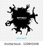 dancing people | Shutterstock .eps vector #120841048