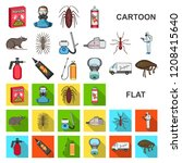 pest  poison  personnel and... | Shutterstock .eps vector #1208415640