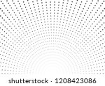 burst square dots with... | Shutterstock .eps vector #1208423086