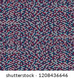 abstract blue and red seamless... | Shutterstock .eps vector #1208436646