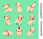 vector cartoon character...   Shutterstock .eps vector #1208447023
