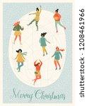 vector illustration of women... | Shutterstock .eps vector #1208461966