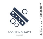 scouring pads icon. trendy flat ... | Shutterstock .eps vector #1208484889