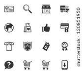 shopping icons   set 2