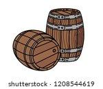 Couple Of Wood Wine Or Whiskey...
