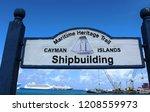 george town  cayman islands ... | Shutterstock . vector #1208559973