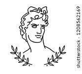 venus  the ancient greek god... | Shutterstock .eps vector #1208562169
