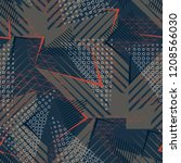 sports textile modern seamless... | Shutterstock .eps vector #1208566030