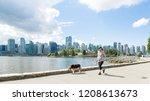 vancouver british columbia...   Shutterstock . vector #1208613673