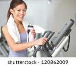 Gym Woman Fitness Workout....