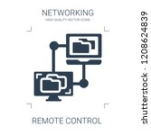 remote control icon. high... | Shutterstock .eps vector #1208624839