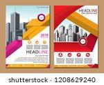 cover design modern   Shutterstock .eps vector #1208629240
