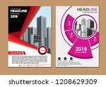 cover design modern   Shutterstock .eps vector #1208629309
