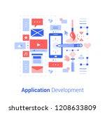 application development....