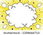 comic speech bubble   Shutterstock .eps vector #1208666713